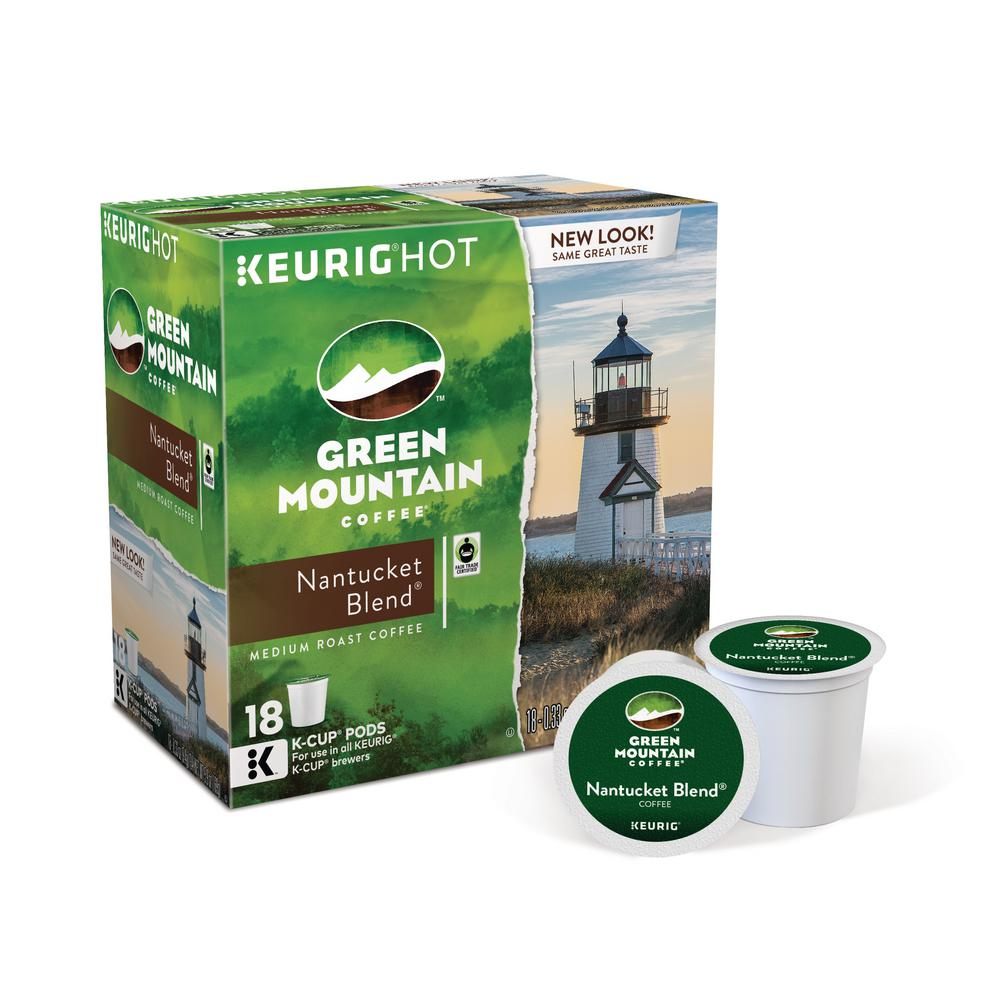 Keurig Kcup Pack Green Mountain Nantucket Blend 108 Count