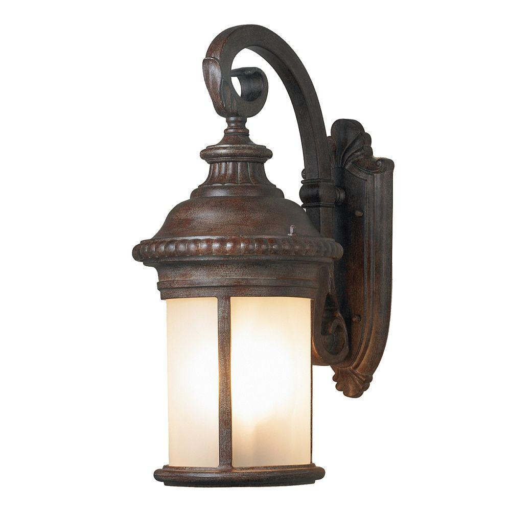 null Downsview Collection1-Light Outdoor Medium Aged Iron Sconce-DISCONTINUED