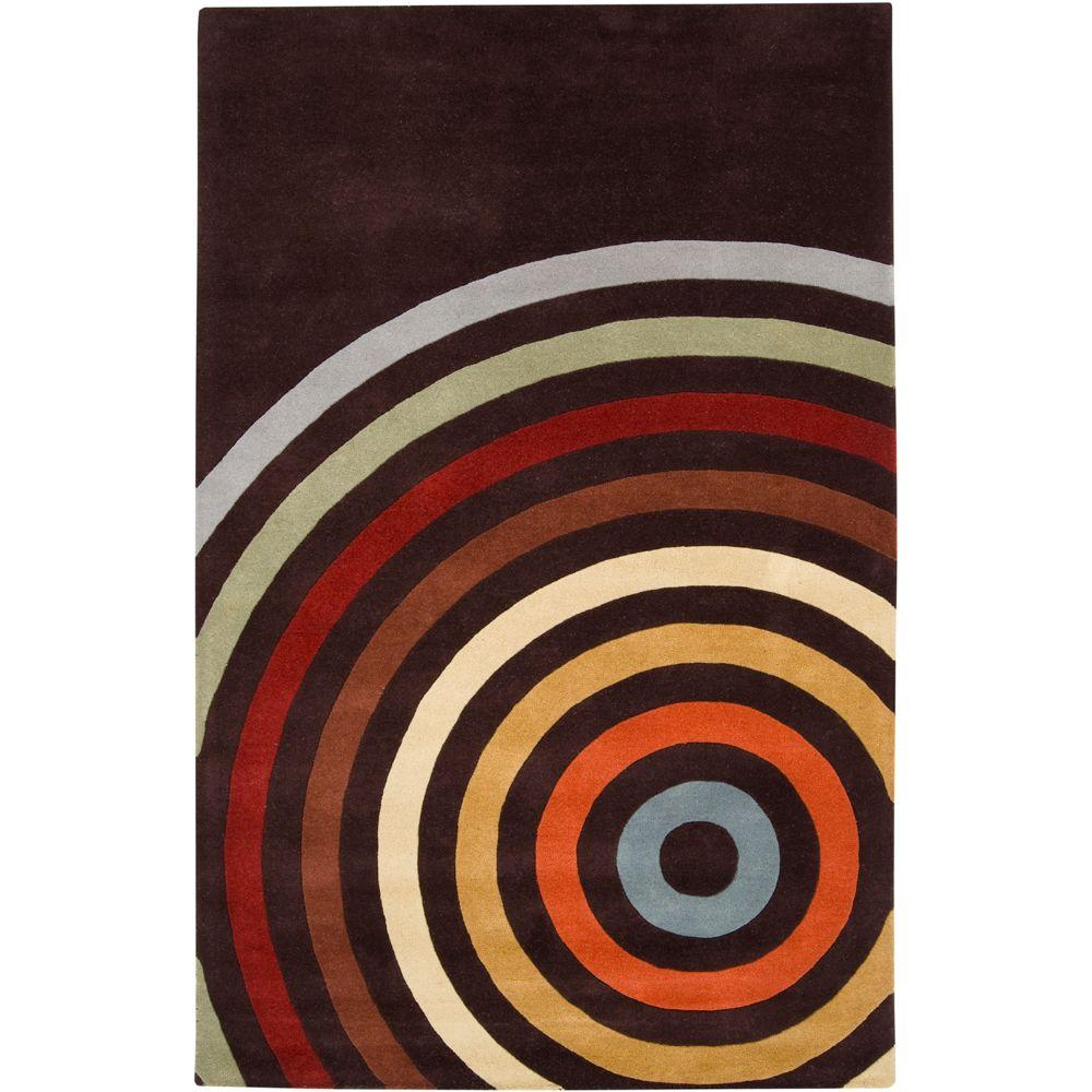 Michael Brown 5 ft. x 8 ft. Area Rug