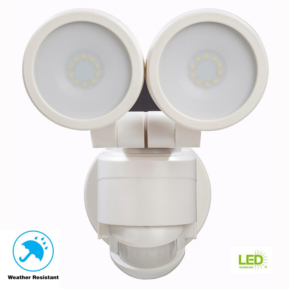 Defiant 180 Degree White Motion Activated Outdoor