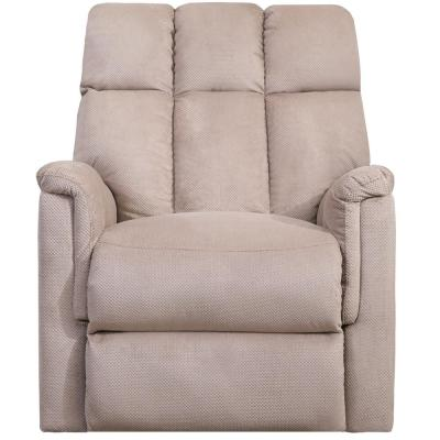 Beige Soft Comfort Power Lift Remote Control Recliner Chair Home Theater Seating for Living Room