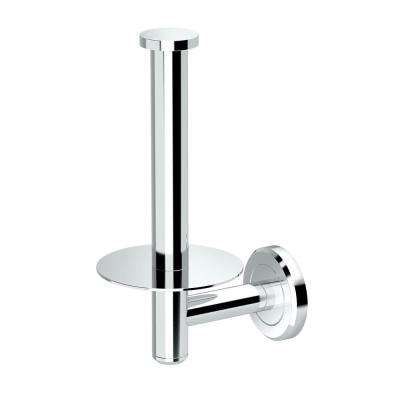 Latitude II Zinc Single Post Toilet Paper Holder in Chrome