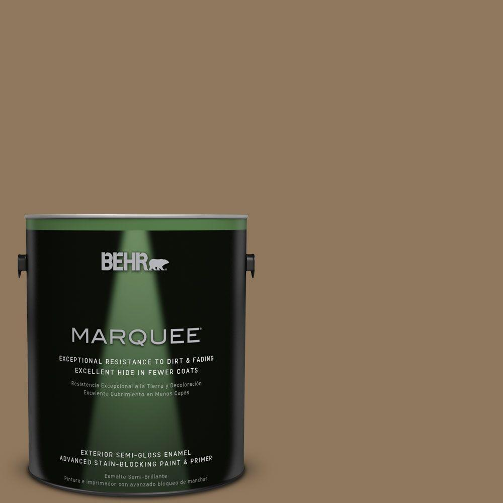 BEHR MARQUEE 1-gal. #N300-6 Archaeological Site Semi-Gloss Enamel Exterior Paint