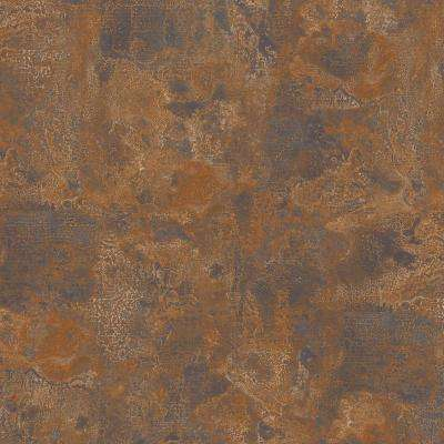 8 in. x 10 in. Laminate Sheet in Milwaukee Jct. Rust with Virtual Design Antique