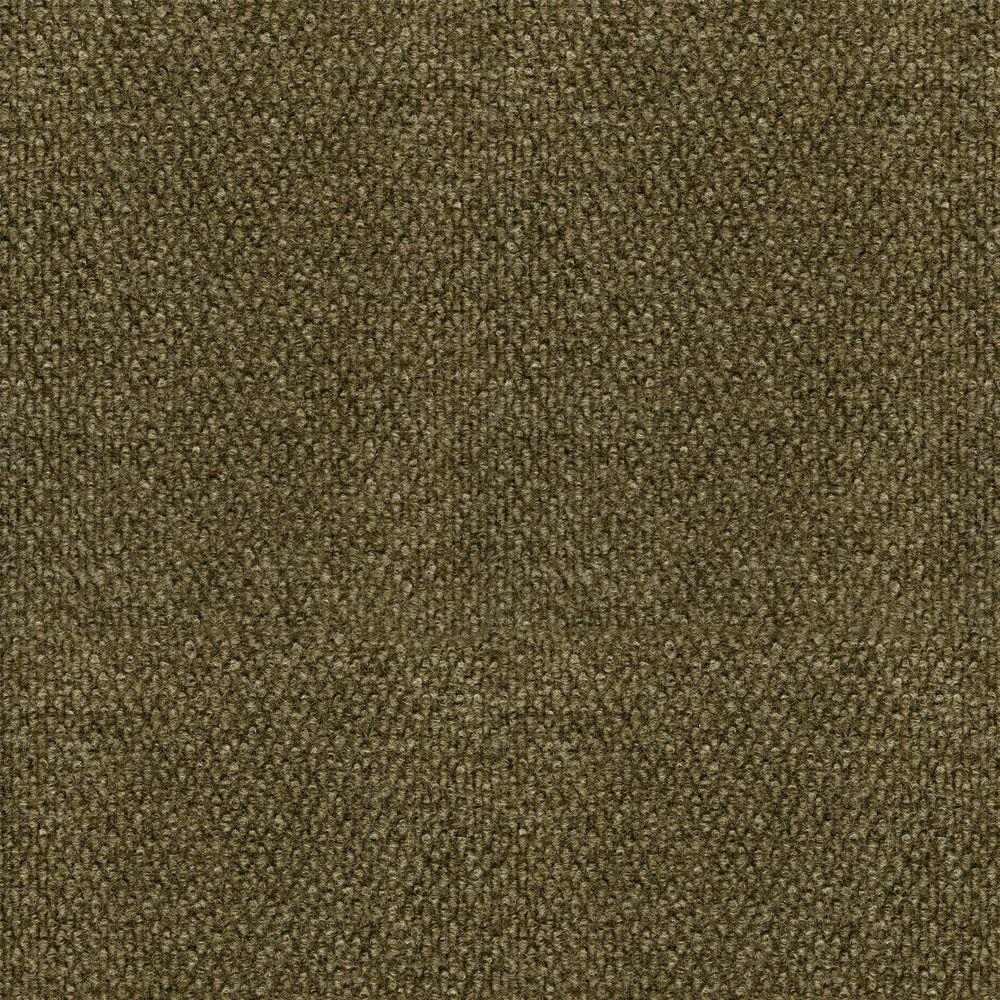 TrafficMASTER Bark Hobnail Texture 18 in. x 18 in. Carpet Tiles ...
