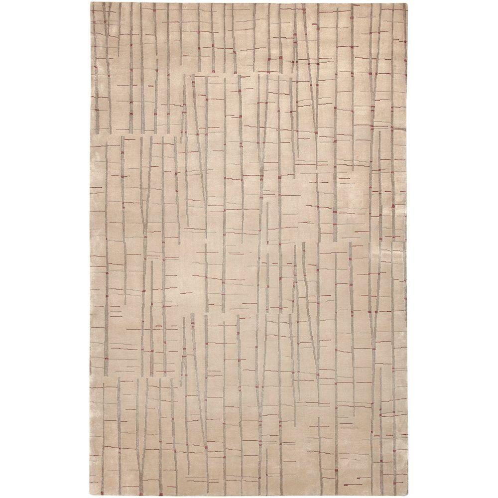 Surya Julie Cohn Tan 4 ft. x 6 ft. Area Rug