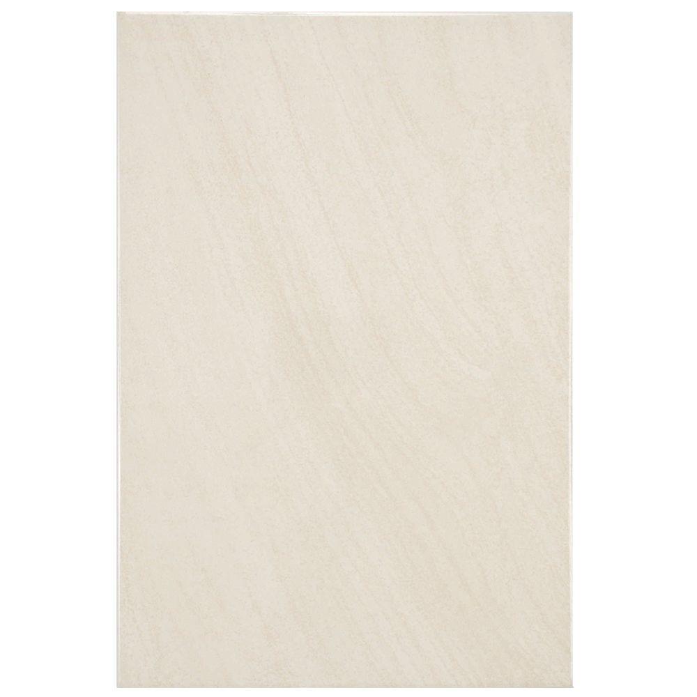 Merola Tile Wave Sandstone 8 in. x 12 in. Ceramic Wall Tile (11 sq. ft. / case)