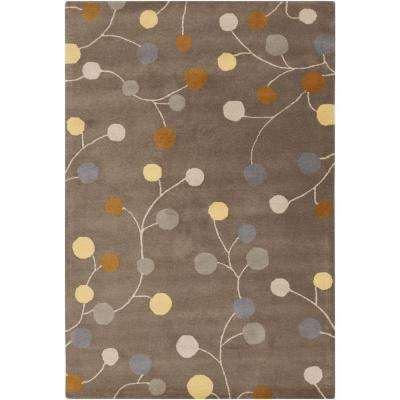 Amicia Charcoal 8 ft. x 11 ft. Indoor Area Rug