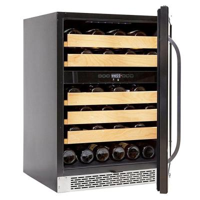 24 in. 46-Bottle 750 ml Dual Temperature Zone Built-In Wine Refrigerator / Cooler