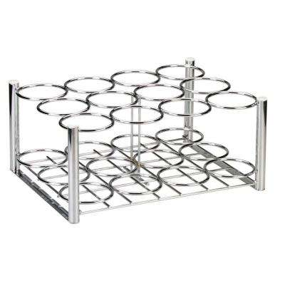 Steel Oxygen 12 Cylinder Rack, M6 Cylinders Only