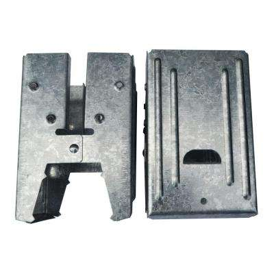 5.5 in. Steel Galvanized Compartment Sawhorse Brackets