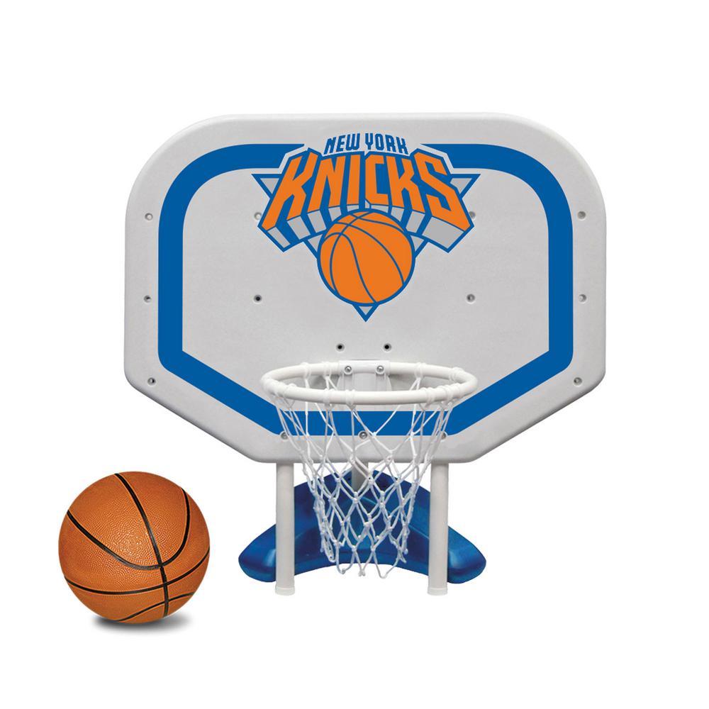 Nba Basketball New York Knicks: Poolmaster New York Knicks NBA Pro Rebounder Swimming Pool Basketball Game-72951