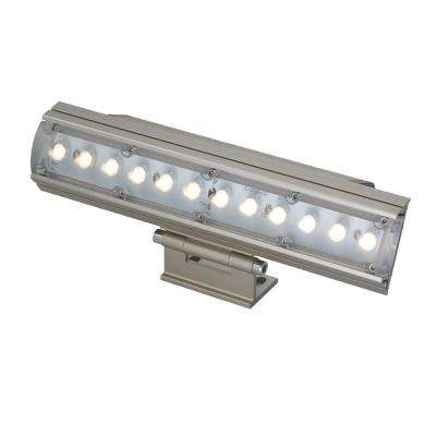 12-Watt Platinum Outdoor Integrated LED Landscape Flood Light