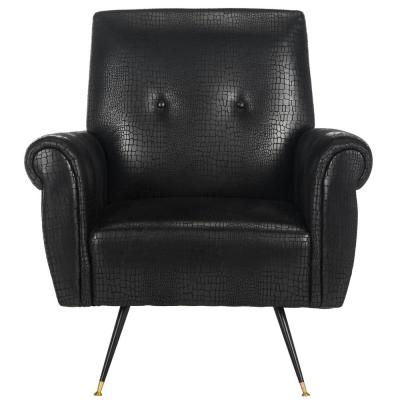 Mira Black Accent Chair