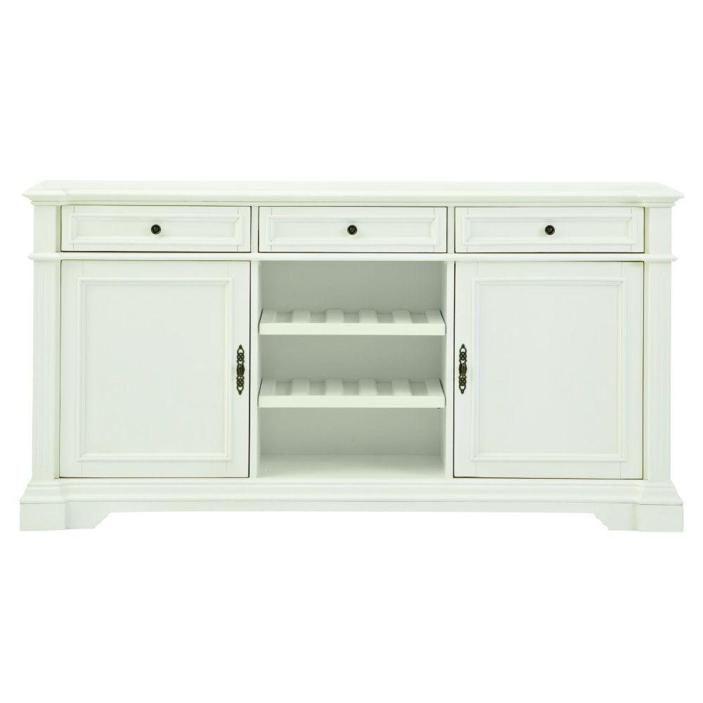 Home Decorators Collection Bufford Rubbed Ivory Buffet