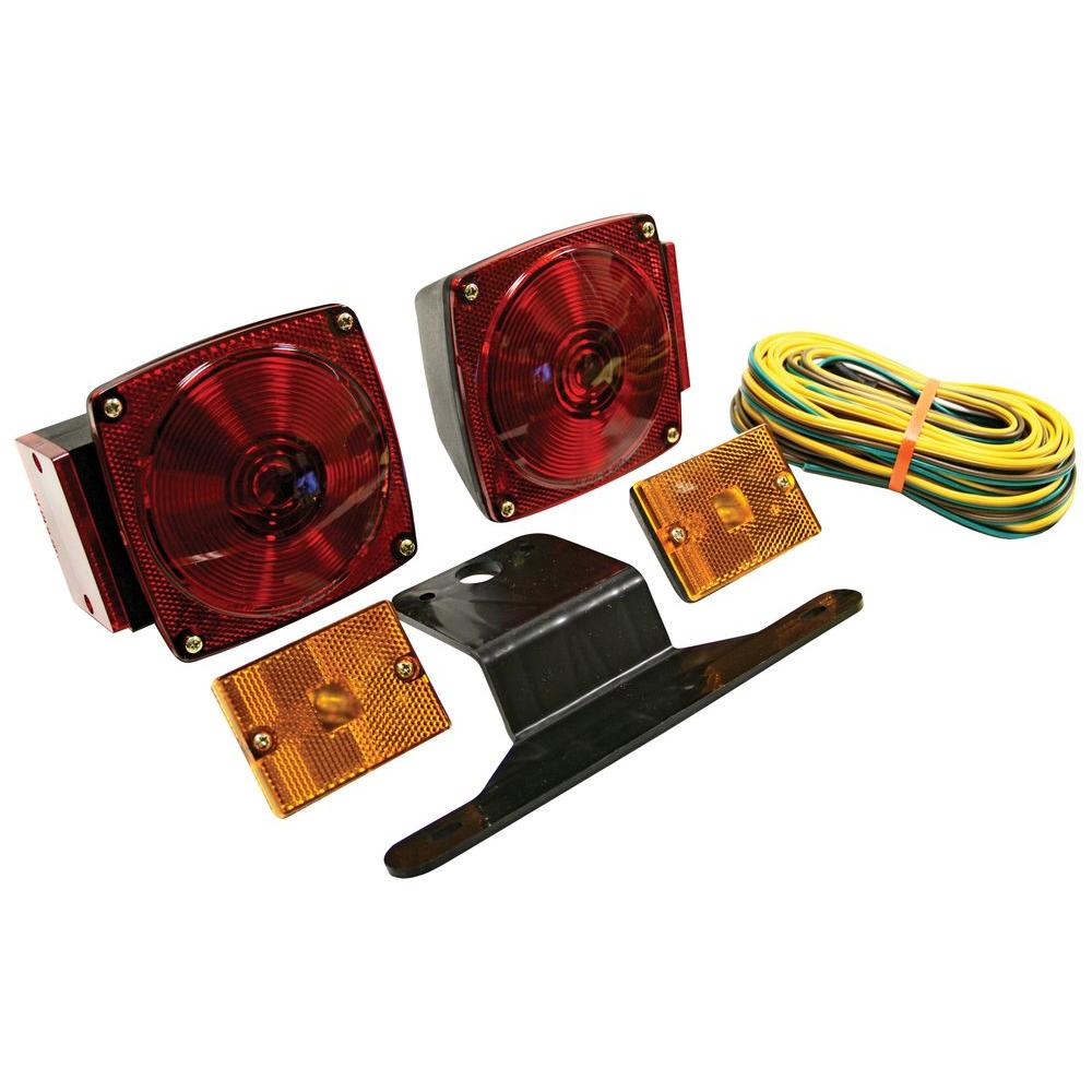 Reese Towpower 80 in. Wide Standard Under Trailer Light Kit