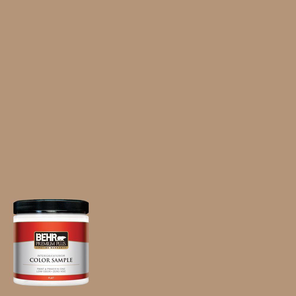 8 oz. #280F-4 Burnt Almond Interior/Exterior Paint Sample