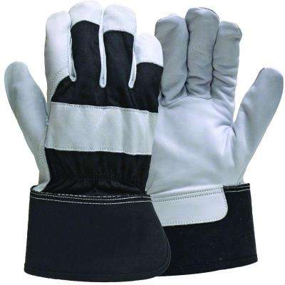 Goatskin Leather Gloves with Safety Cuff
