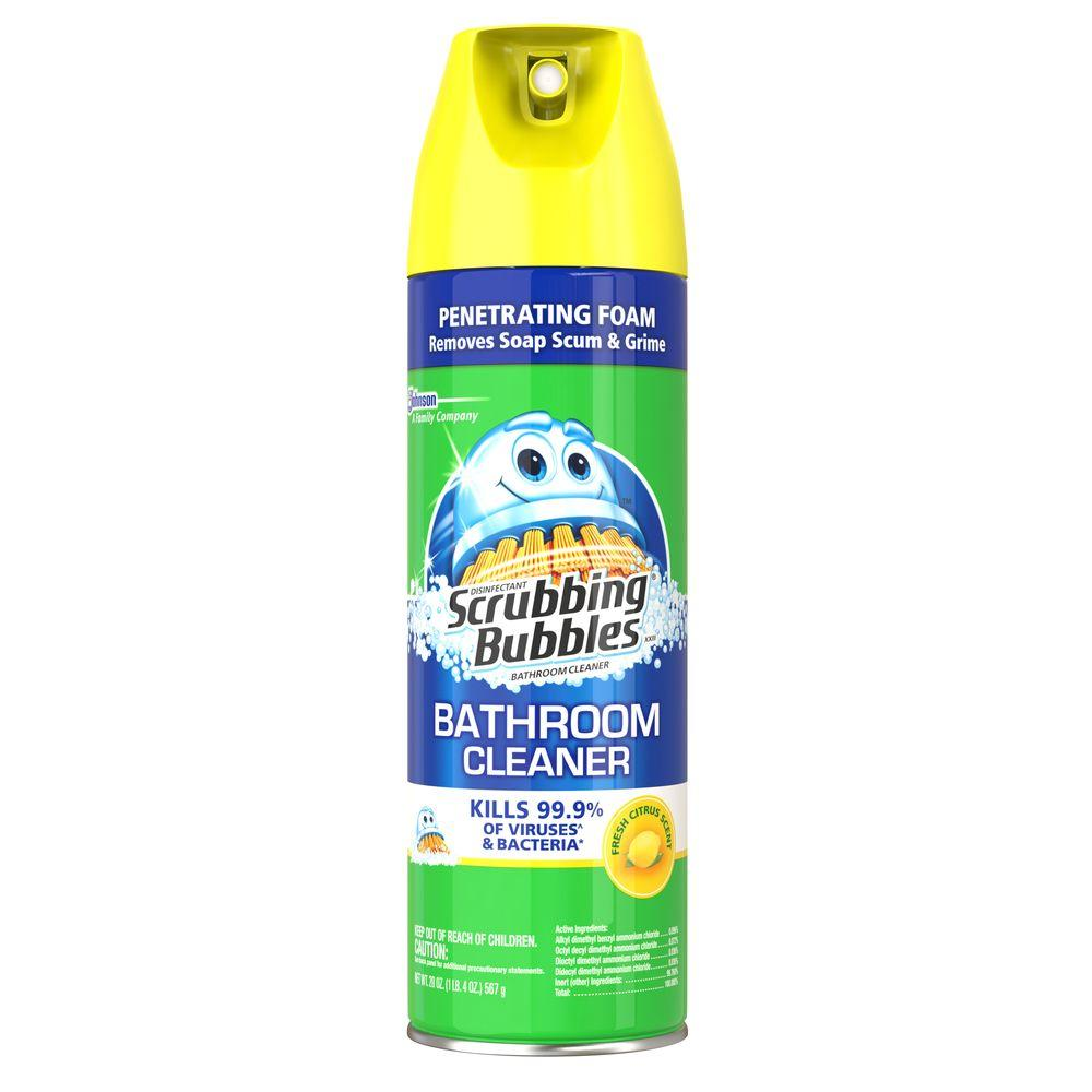 20 oz. Disinfectant Citrus Scent Bathroom Cleaner