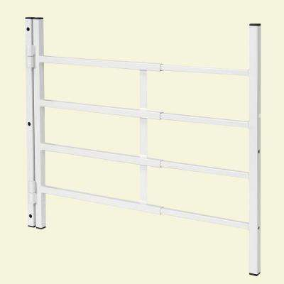 31-54 in. x 21 in. High Hinged 4-Bar Window Grill