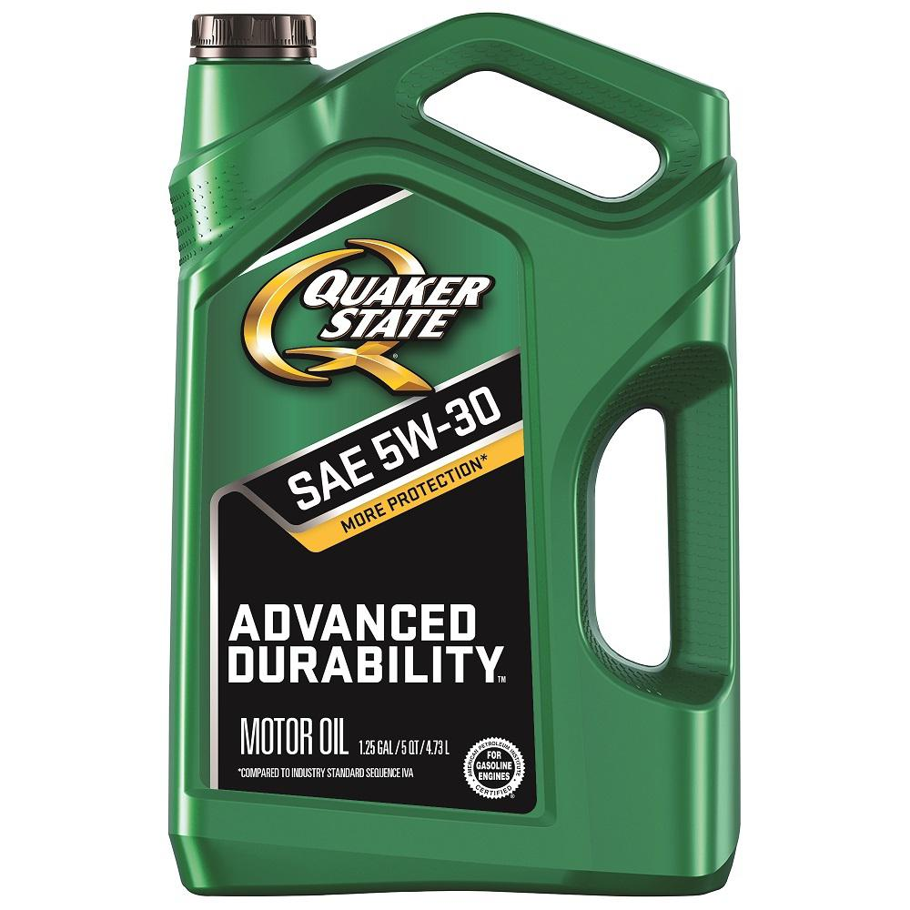 Quaker State 5 Qt. SAE 5W-30 Advanced Durability Conventional Motor Oil