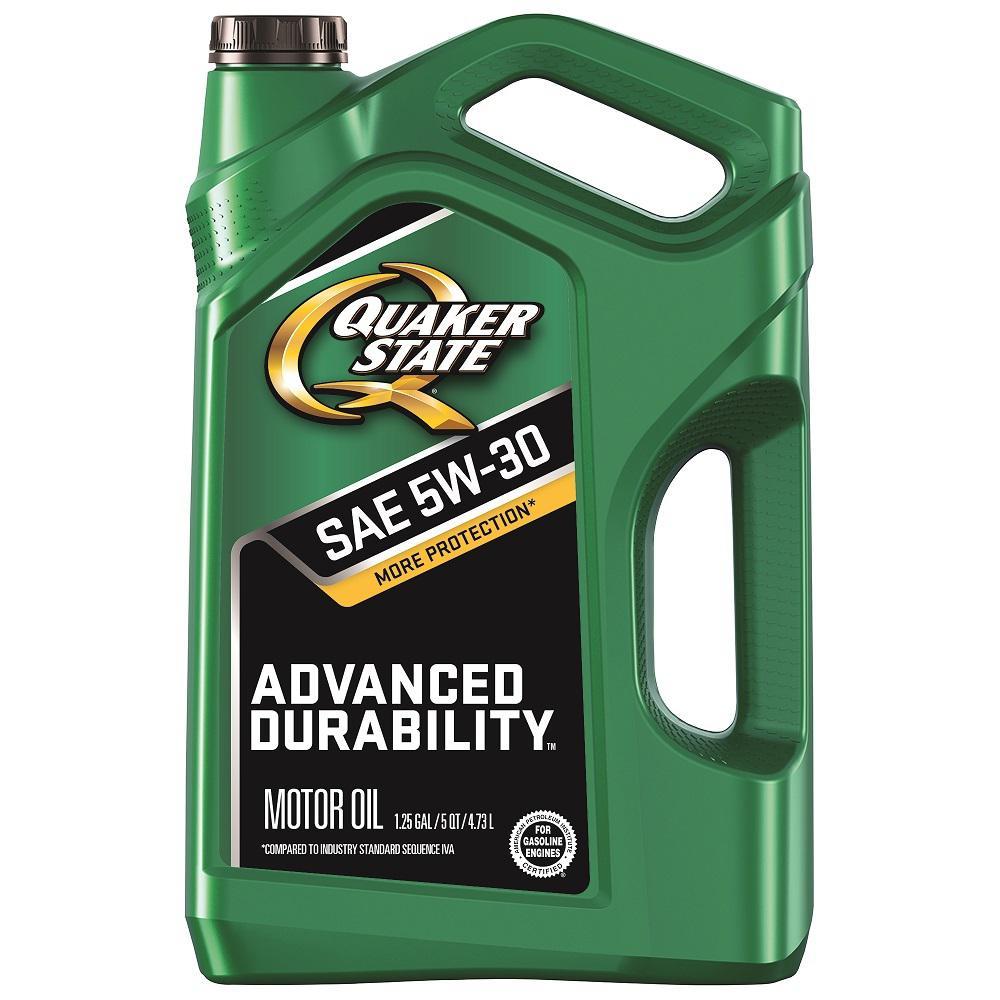 5 Qt. SAE 5W-30 Advanced Durability Conventional Motor Oil