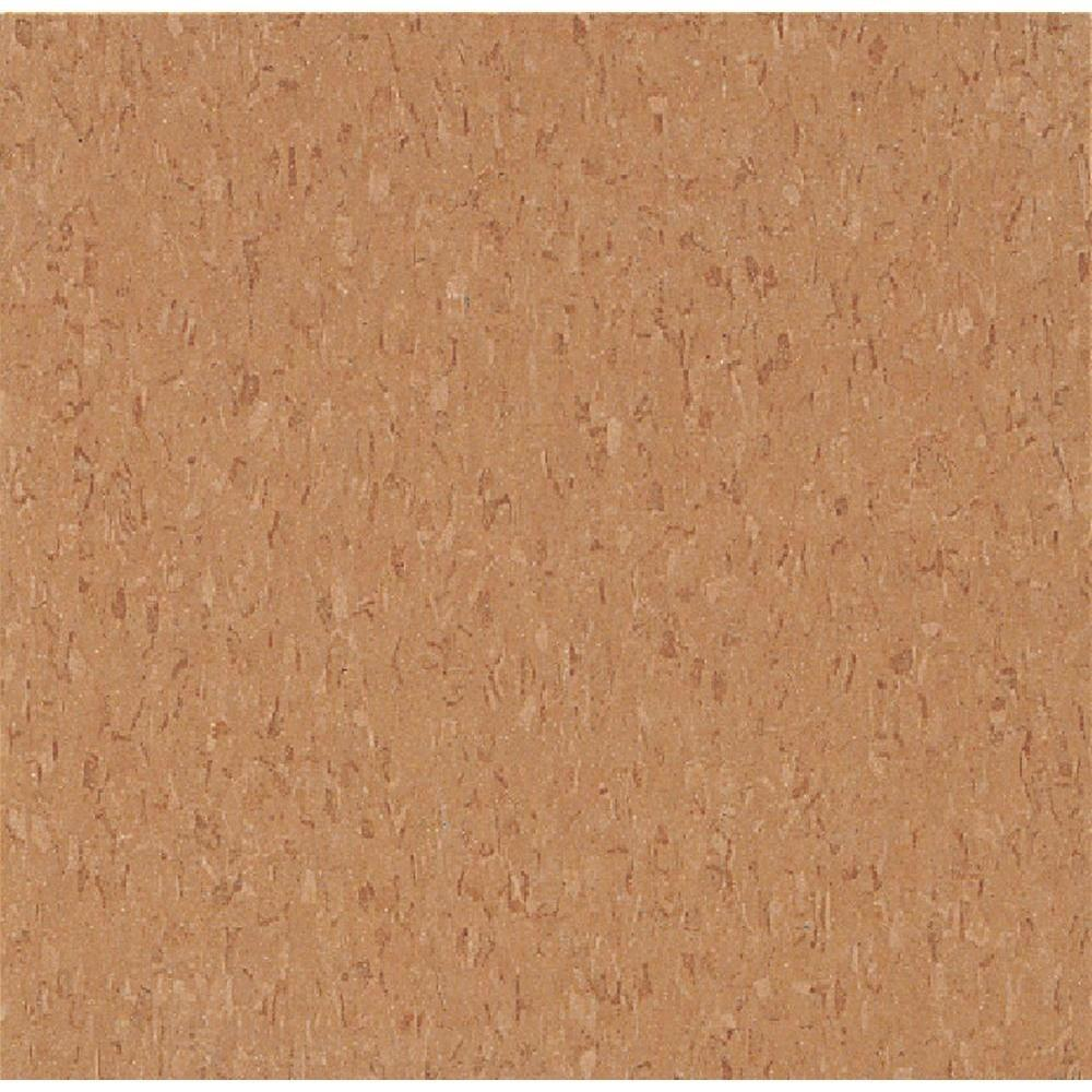 Armstrong Take Home Sample - Imperial Texture VCT Curried Caramel Standard Excelon Commercial Vinyl Tile - 6 in. x 6 in.