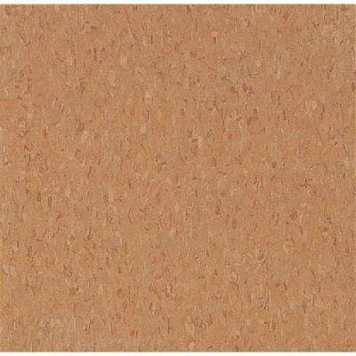 Take Home Sample - Imperial Texture VCT Curried Caramel Standard Excelon Commercial Vinyl Tile - 6 in. x 6 in.