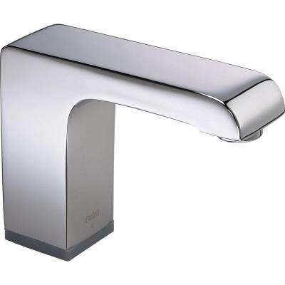 Arzo Battery-Powered Single Hole Touchless Bathroom Faucet with Proximity Sensing Technology in Chrome
