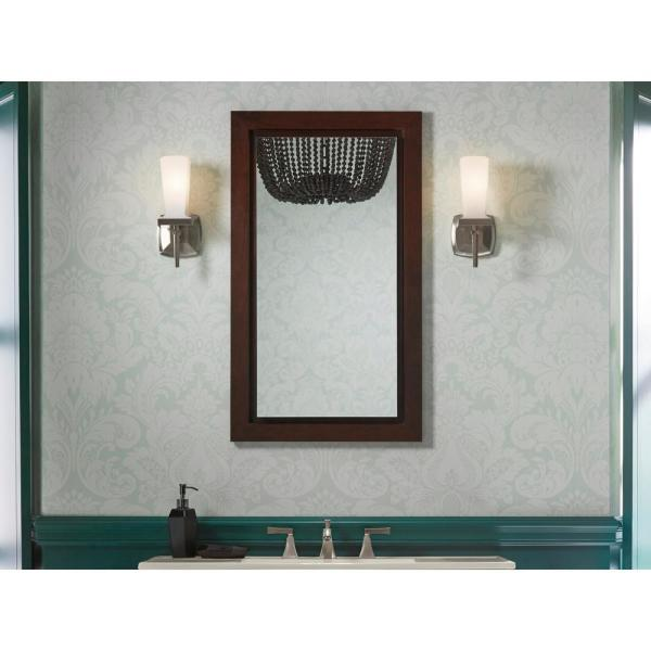 Kohler Flat Edge 15 In X 26 In Recessed Or Surface Mount Medicine Cabinet K 99890 Na The Home Depot