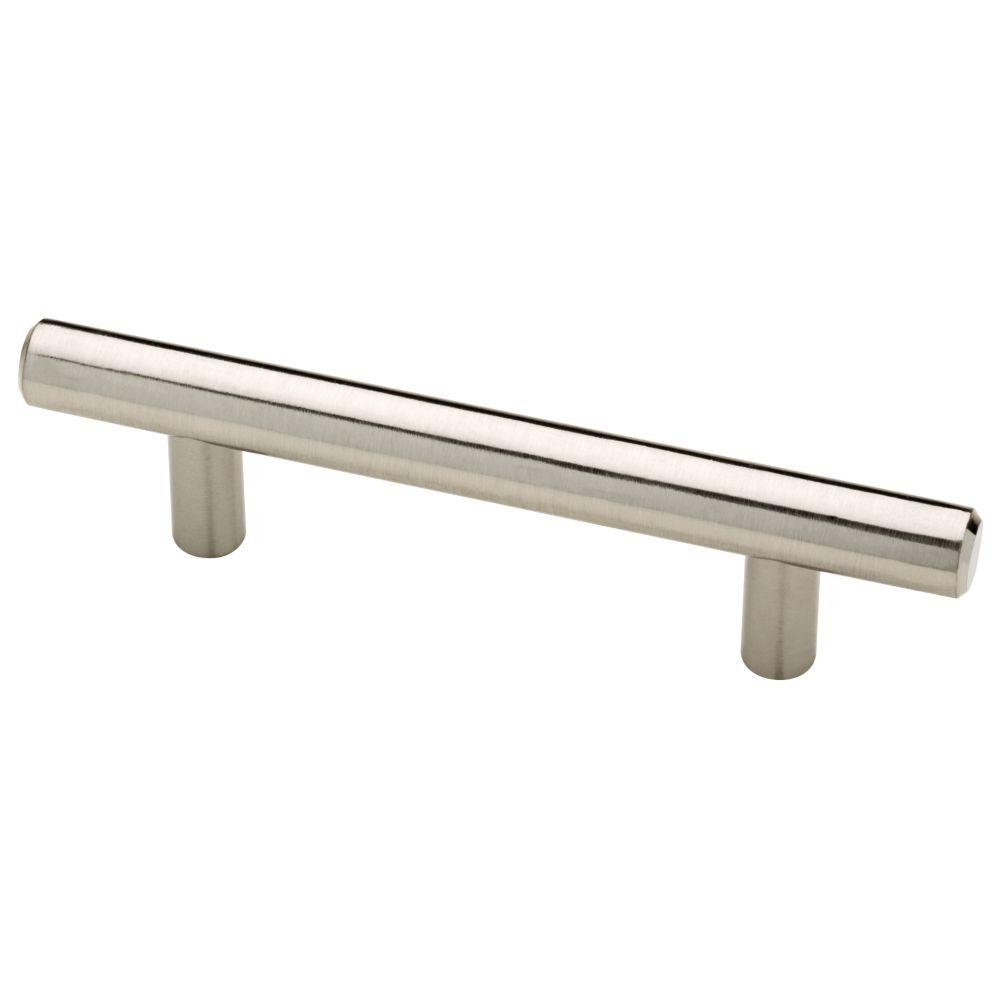Liberty 3 In 76mm Center To Center Satin Nickel Bar Drawer Pull 6 Pack P27507h Sn X1 The Home Depot