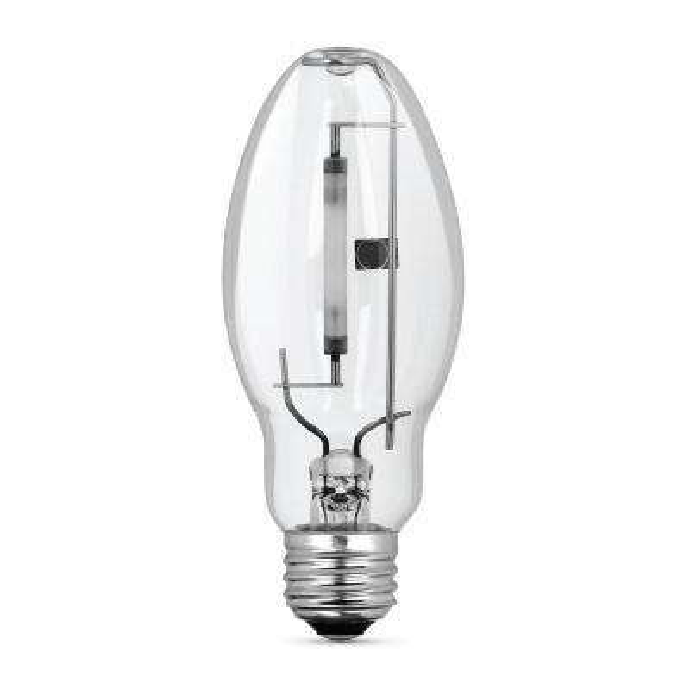 50-Watt ED17 Shape Clear High Pressure Sodium E26 Medium Base HID Light Bulb (1-Bulb)