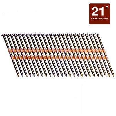 3 in. x 0.131 Plastic 4M Vinyl-Coated Steel Smooth Shank Framing Nail