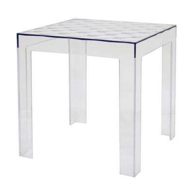 Parq Modern Clear Finished End Table