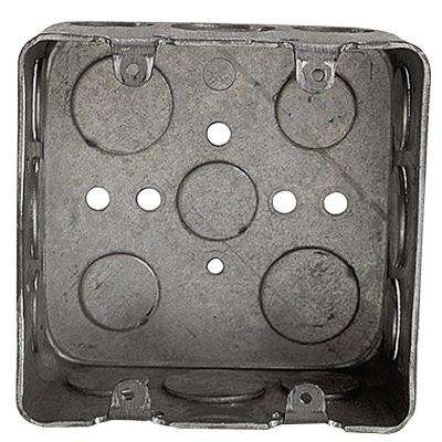 2-Gang Square Device Wall Box (Case of 10)