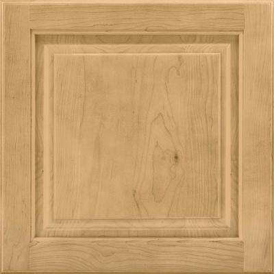 14-9/16 in. x 14-1/2 in. Cabinet Door Sample in Portola Maple Rye