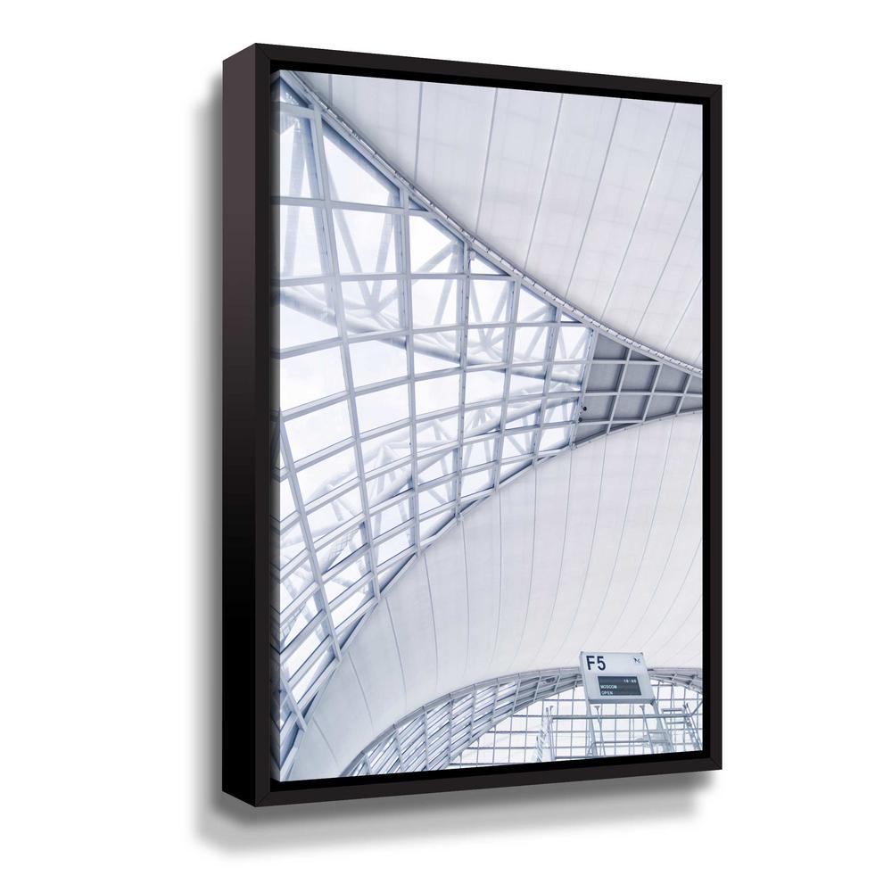 ArtWall Airport' by PhotoINC Studio Framed Canvas Wall Art 5pst239a0812f