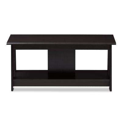 Fionan Wenge Dark Brown Coffee Table