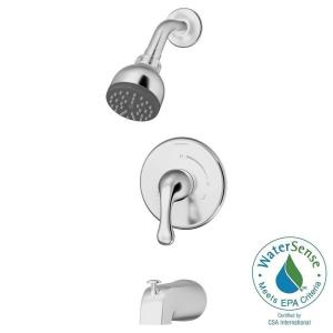Unity Single Handle 1 Spray Tub and Shower Faucet with Stops in ChromeKOHLER Rubicon 1 Handle Wall Mount Tub and Shower Faucet in  . 2 Knob Shower Faucet. Home Design Ideas