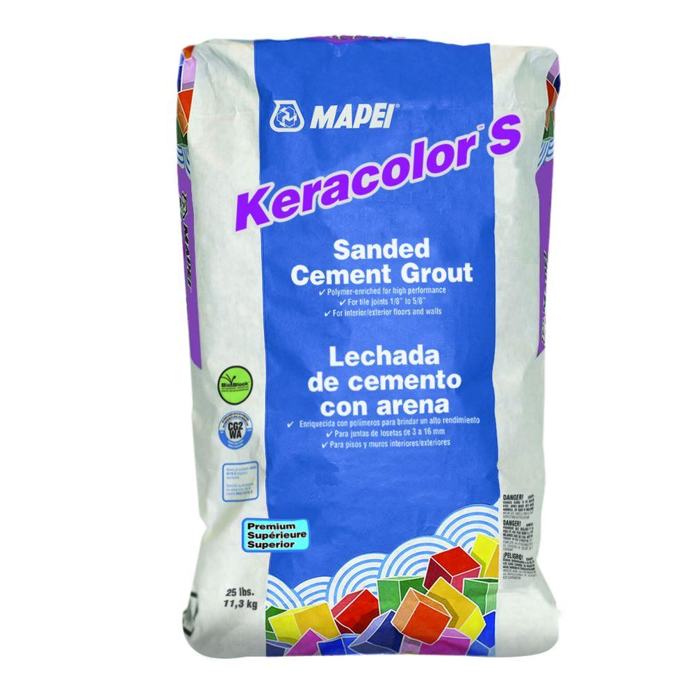 Mapei Keracolor 25 Lb Chamois Sanded Grout 20525 The