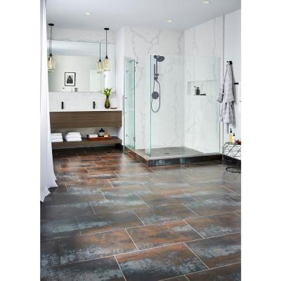 Antares Saturn Coal 16 in. x 24 in. Matte Porcelain Floor and Wall Tile (10.68 sq. ft. / case)