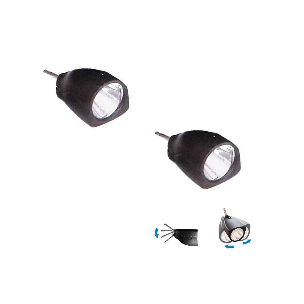 1-Watt Adjustable LED Light Unit (2 per Pack)