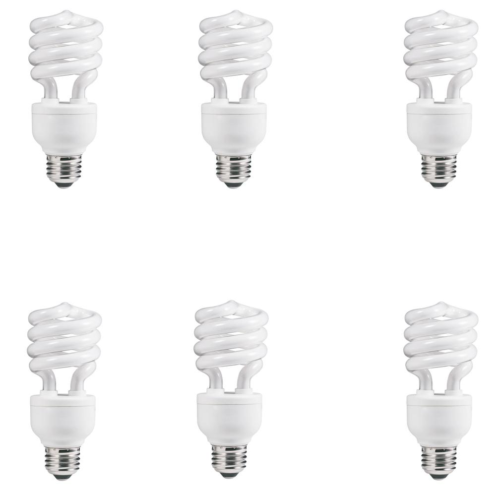 Pack Of 3 Black Light 20 Watt BLB Spiral Energy Saving CFL Compact Fluorescen...