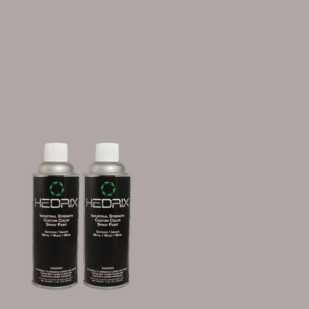 Hedrix 11 oz. Match of MQ5-8 Masterpiece Gloss Custom Spray Paint (2-Pack)