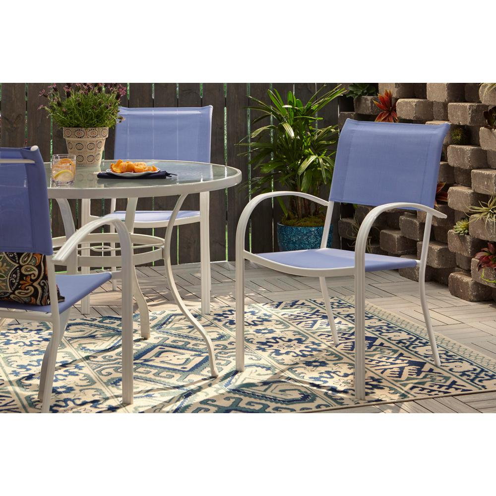 Hampton Bay Stackable Sling Outdoor Dining Chair in ...
