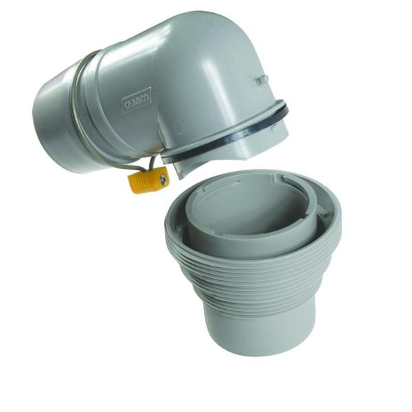 Easy Slip Elbow and 4-in-1 Adapter