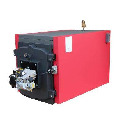 Waste Oil Fired Boiler with 360,000 BTU Input