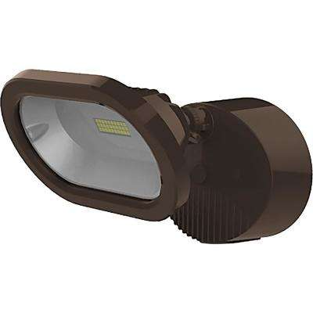 Bronze Outdoor Integrated LED Spot Light