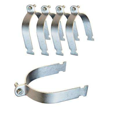 4 in. Electro Galvanized Steel Strut Clamp (5-Pack)