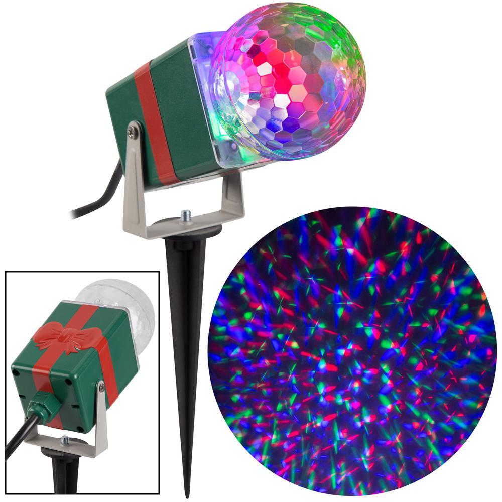 RGB Christmas LightShow Projection Kaleidoscope
